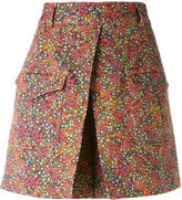 Philosophy Di Lorenzo Serafini - floral print shorts - women - Cotton/other fibers - 40