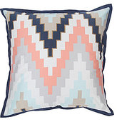 Blissliving Home Harper Reversible Chevron Euro Sham