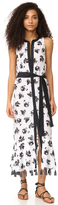 Proenza Schouler Falling Flowers Cover Up Dress