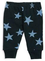 Stella McCartney Baby's Glittered Star Print Cotton Sweatpants