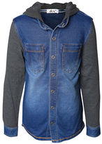 Dex Hooded Denim Shirt