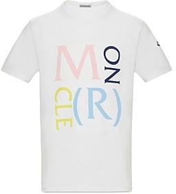 Moncler Unisex Lettering T-Shirt - Big Kid