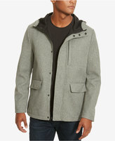 Kenneth Cole New York Men's Fleece-Lined Coat