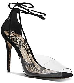 Schutz Women's Melynda Clear High-Heel Sandals