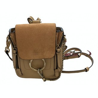 Chloé Faye Other Leather Backpacks