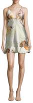 ABS by Allen Schwartz Jem Floral Print Flared Dress