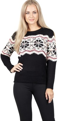 M&Co Izabel fairisle knitted jumper