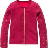 Oilily Red Zip-Front Tisja Cardigan - Toddler & Girls