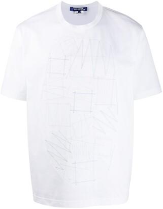 Junya Watanabe embroidered front crewneck T-shirt
