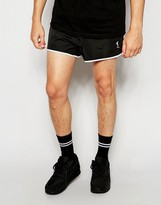 Religion Runner Short Shorts - Black