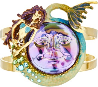 Kirks Folly Marina Mermaid Seaview Water Moon Cuff Bracelet