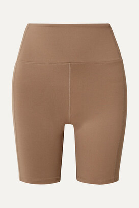 YEAR OF OURS Diana Stretch Shorts - Tan
