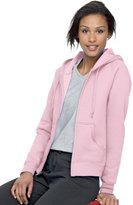 ComfortBlend Hanes EcoSmart Cotton-Rich Full-Zip Hoodie Women's Sweatshirt, Size