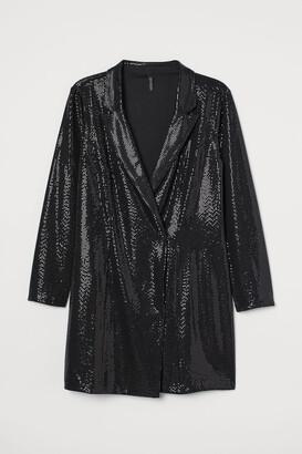 H&M H&M+ Shimmering jacket dress