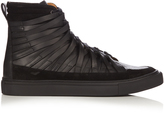 Damir Doma Falco high-top leather trainers