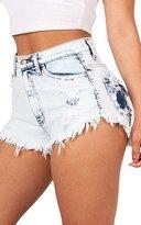 jasmine214 HighWaist Juniors Cut Off Ripped Hole Jeans Sexy Denim Shorts Women