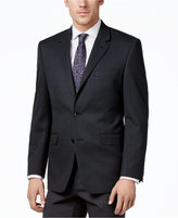 Alfani Men's Traveler Charcoal Solid Classic-Fit Jacket, Only at Macy's