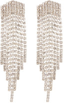 Natasha Accessories Crystal Fringe Earrings
