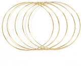 Jules Smith DROP IT BANGLES SET OF 5, GOLD