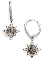 Nadri Holiday Star Drop Earrings