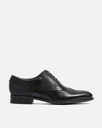 Ted Baker MITACK Leather wing cap brogues