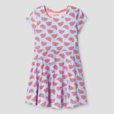 Cat & Jack Girls' Watermelon Print Dress Cat & Jack - Blue