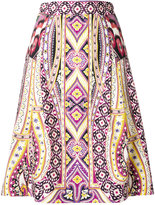 Etro printed A-line skirt - women - Cotton/Viscose - 38