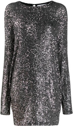 In The Mood For Love Alexandra sequinned shift dress