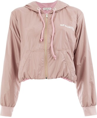 Natasha Zinko zip front hooded jacket