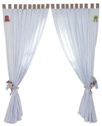 Lollipop Lane 167 x 183cm Speedy Pup Curtain Large
