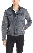 Calvin Klein Jeans Men's Trucker Jacket Buried Indigo