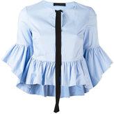 Christian Pellizzari ruffled blouse