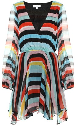 Caroline Constas Exclusive to Mytheresa a striped silk chiffon dress