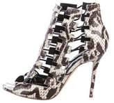Aperlaï Shena Caged Sandals