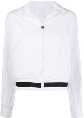 NO KA 'OI Zipped Two-Tone Track Jacket