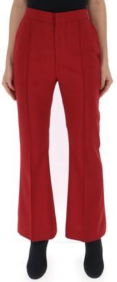 Marni High-Waisted Flared Trousers