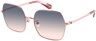 Kate Spade Eloygs Stainless Steel Square Sunglasses
