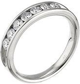Leo Diamond platinum 0.50ct I-SI2 eterntiy ring