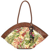 Patricia Nash Cuban Tropical Collection Trope Dome Tote