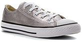 Converse Girls' Chuck Taylor All Star Metallic Canvas Ox PS/GS