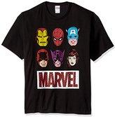 Marvel Men's Retro Avengers Icon T-Shirt