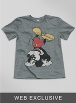 Junk Food Clothing Kids Boys Mickey Tee-steel-l
