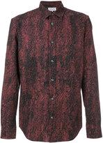Maison Margiela printed long sleeve shirt