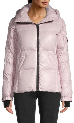 S13 Kylie Quilted Down Puffer Jacket