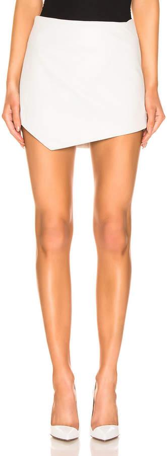 Mini Skirt in Ivory   FWRD