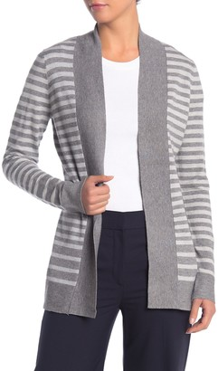Cyrus Cozy Striped Open Front Cardigan