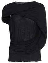 Rick Owens Draped cotton top