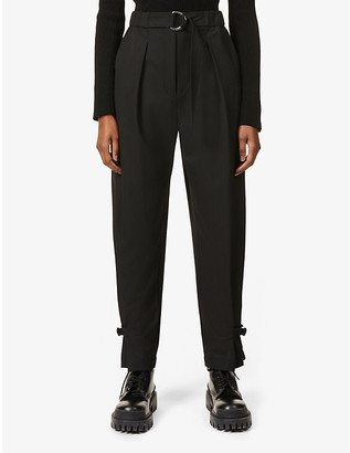 3.1 Phillip Lim Tapered high-rise woven trousers