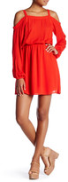 Sugar Lips Sugarlips Cold Shoulder Mini Dress