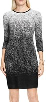 Vince Camuto Ombré Jacquard Sweater Dress